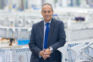 Luis Pizarro, CEO de Airbus Operations, S.L
