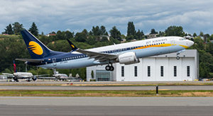 Primer 737MAX de Jet Airways