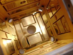 Carcasa de electrodos de LISA Pathfinder