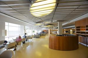 Una sala VIOP del aeropuerto madrileño