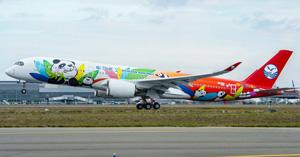 Nuevo avión de Sichuan Airlines