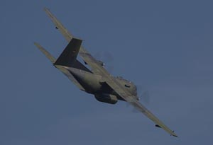 Un Transall de la Luftwaffe