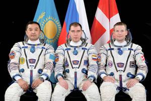 la tripulación de la Expedición 45