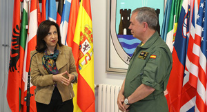 Ministra Defensa