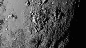 Primera imagen de Plutón en HR enviaga por New Horizons