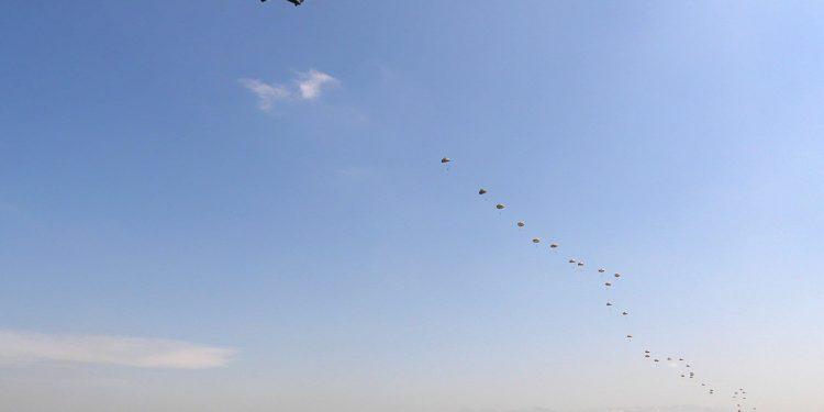 Paracaidistas de Airbus