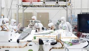 Sala de integración de vehículos espaciales