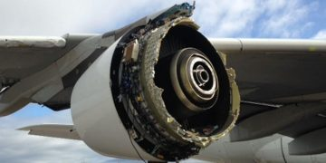 Accidente motor Airbus