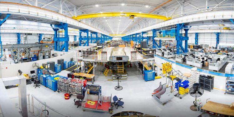 Nueva fábrica de Boeing