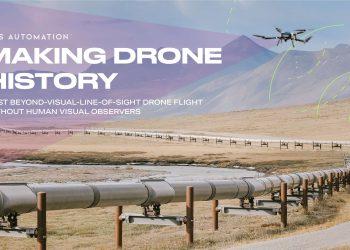 Prueba de dron BVLOS en Alaska