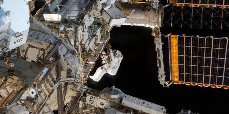 Nasa paseo espacial
