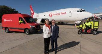 Acuerdo entre Qantas y Australia Post