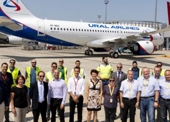Primer A320 neo de Ural Airlines
