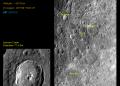 Iimagenes de la Luna Chandrayaan-2