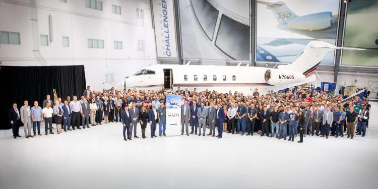 Bombardier entrega el Challenger número 100 a NetJets.