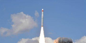 Cinco satélites chinos