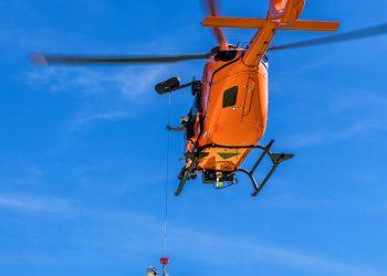 Helicoptero salvamento