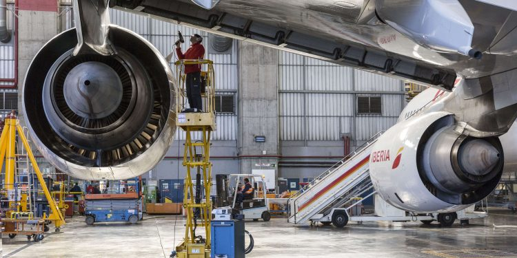 Iberia mantenimiento