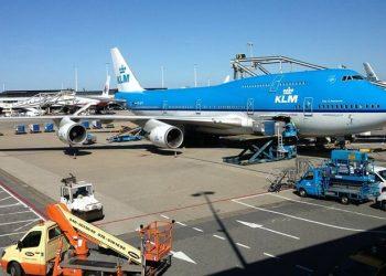KLM personal tierra