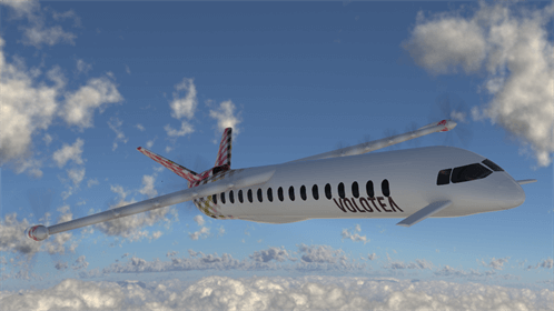 Volotea avión híbrido