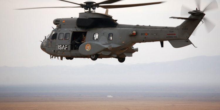 Superpuma del Ejército del Aire