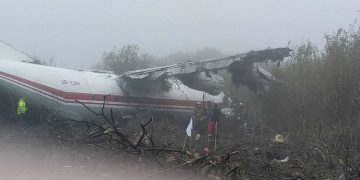 Accidente de un avión de Vigo en Ucrania.