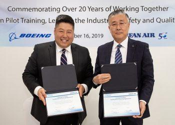 Acuerdo entre Korean y Boeing