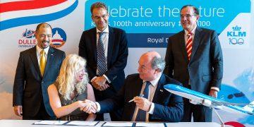 Acuerdo entre KLM y Microsoft