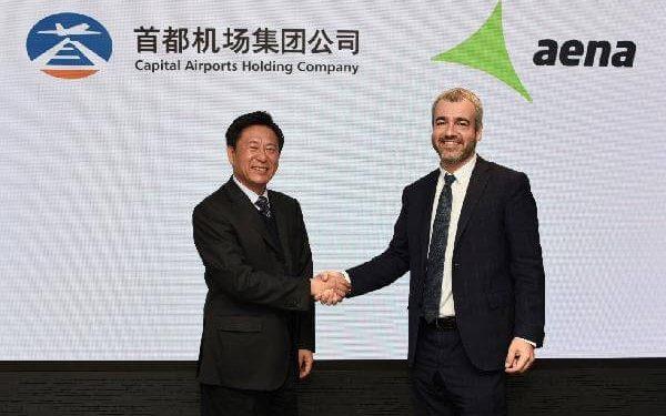 Acuerdo de cooperación entre Aena y Capital Airports Holding