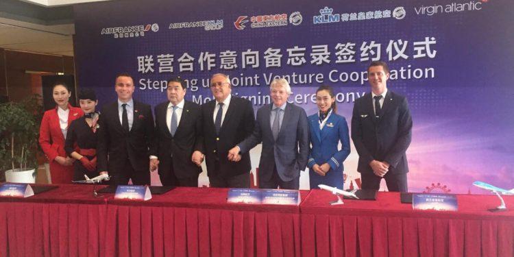 AirFrance-KLM, China Eastern y Virgin