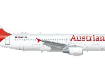 A320 de Austrian Airlines