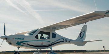 Avión eléctrico de Siemens