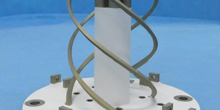 Hélice PROBA-3 fabricada en impresión metálica 3D