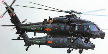 Helicóptero chino