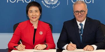 Firma de la OACI y ENAC