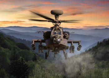 Helicóptero Apache AH-64E