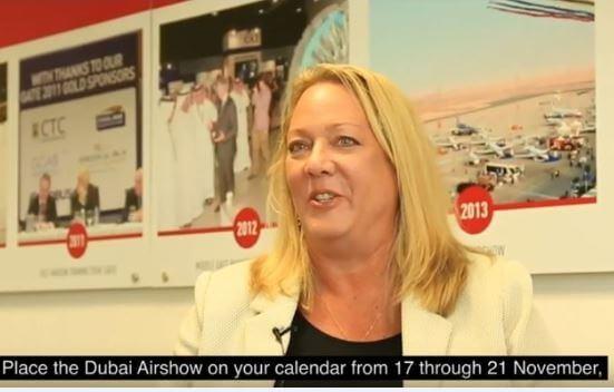 Michele van Akelijen, directora gerente de la empresa organizadora Tarsus F&E LLC Medio Oriente