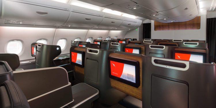 Qantas A380 Business