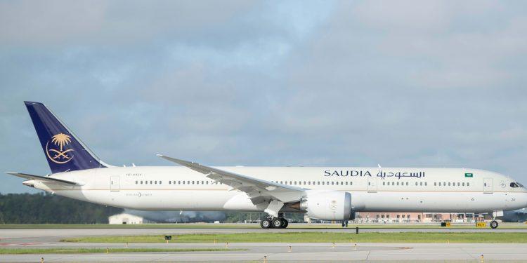 Saudi 787-10 Dreamliner