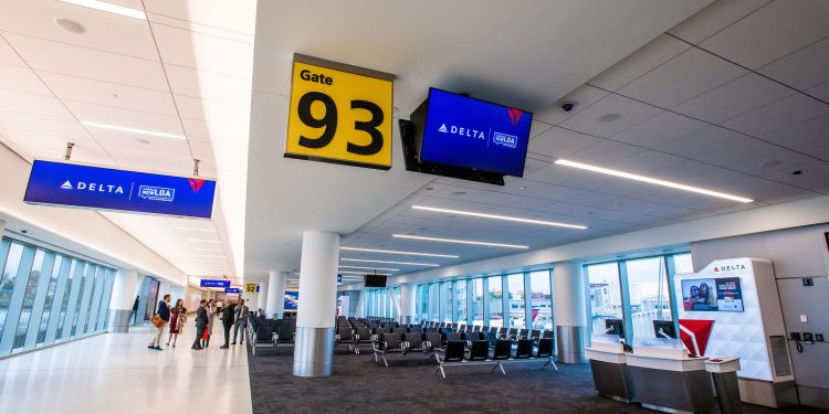 Terminal de Delta en LGA
