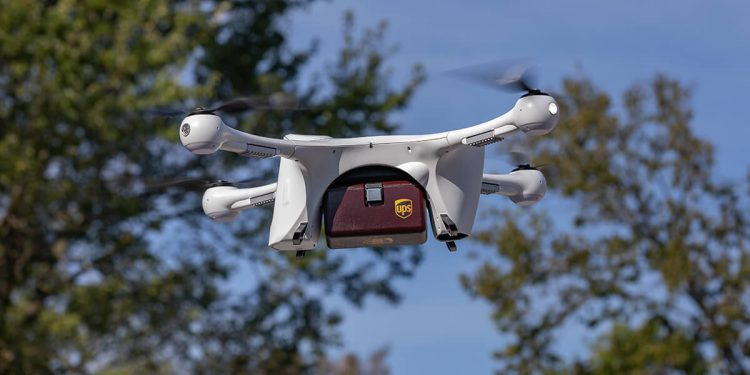 UPS Dron