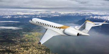 Un Global 7500 de Bombardier