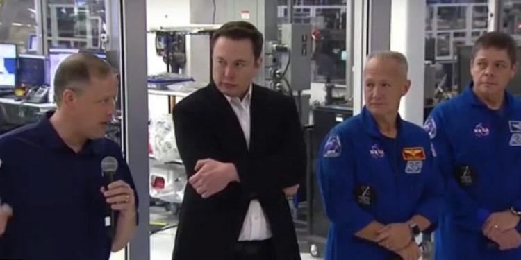 Jim Bridenstine y Elon Musk