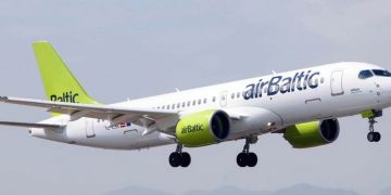Un A220-300 de AirBaltic