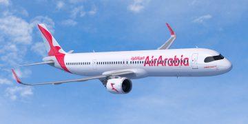 Un A321XLR de Air Arabia