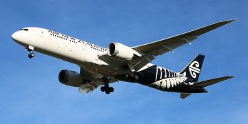 Boeing787-9 de Air New Zealand