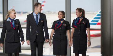 Asistentes de vuelo de American Airlines