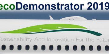 Boeing ecoDemonstrator 2019