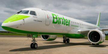 E195-E2 de Binter