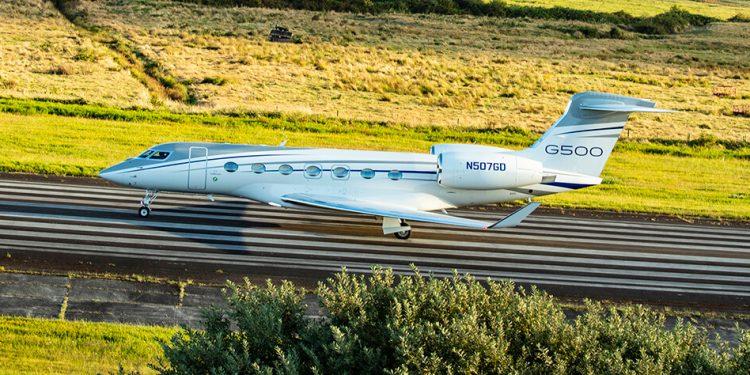 Gulfstream entrega su primer G500 en Europa